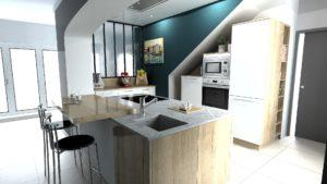 Plan 3D Esprit Cuisines Saint-Lô